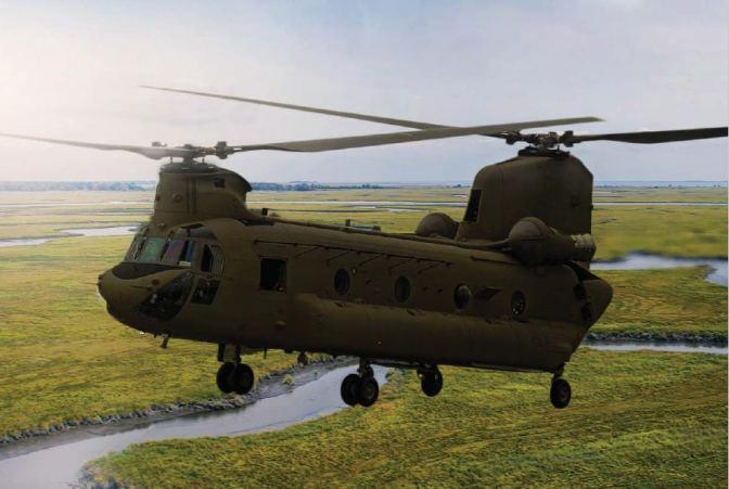 CH-47 Chinook, Heli Transport Sekaligus Heli Tempur yang Andal