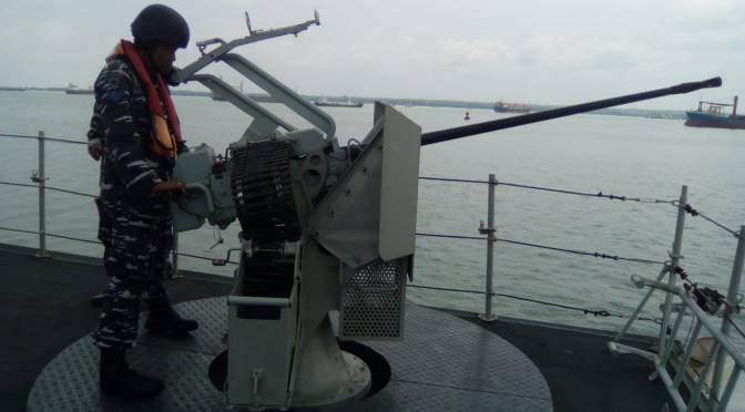 KRI Hiu-634 Latihan Peperangan Anti-kapal Permukaan