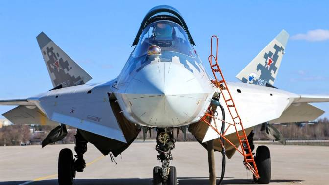 Rostec Upgrade Jet Tempur Siluman Su-57