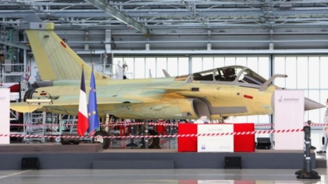 the formal launch of the rafale f4 upgrade took place during a visit to dassault_s mérignac production facility by french defence minister florence parly. ministére des