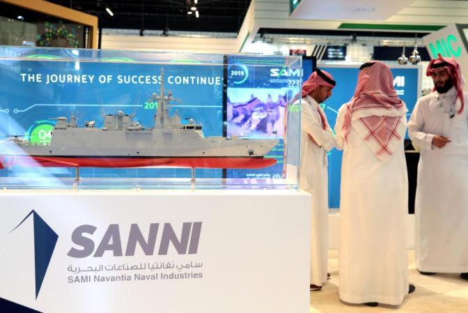 Arab Saudi Tandatangani Perjanjian Pembangunan Kapal Perang dengan Naval Group