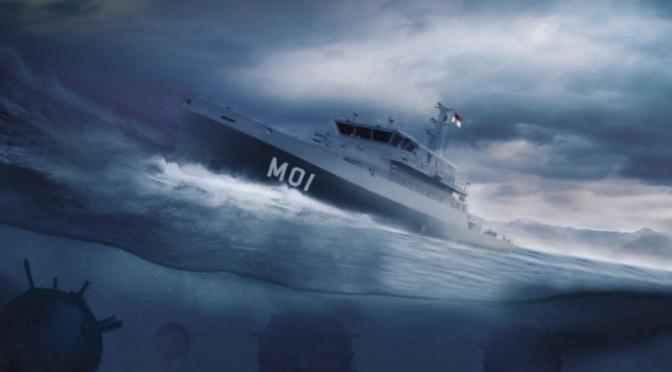Indonesia Pilih Kapal 62 M Besutan Abeking & Rasmussen untuk Penggantian MCMV