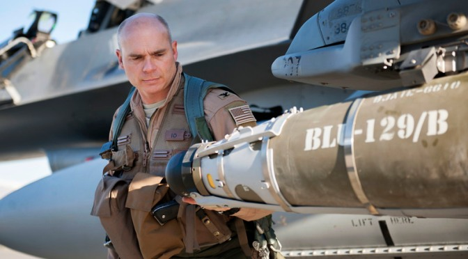 AS Tingkatkan Produksi Bom BLU-19