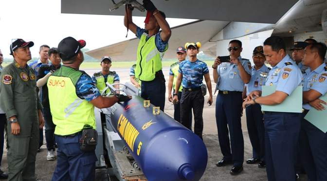Bom P-500 L Diuji Dinamis di Pesawat Tempur Sukhoi