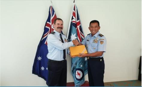 CAF RAAF Apresiasi Kemampuan Delegasi TNI AU di Gelaran Pitch Black 2018