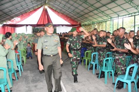 Danrem 091 ASN Brigjen TNI Widi Prasetijono. (Penrem 091)