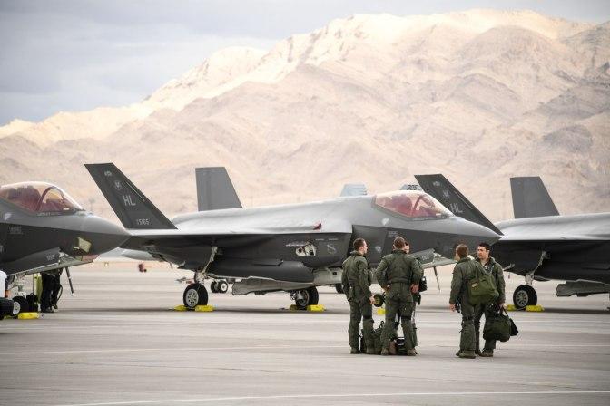 Dalam Skenario Tempur Red Flag, Satu F-35 Bisa 'Bunuh' 60 Jet Tempur Musuh