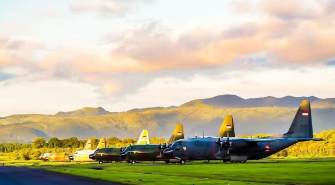 Optimalisasi Pemeliharaan C-130 Hercules TNI AU