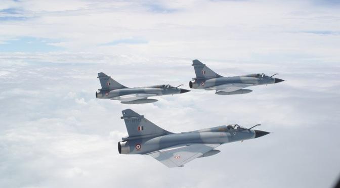 Jet Tempur India Gempur Wilayah Pakistan