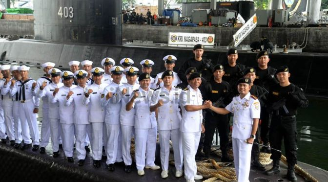 Sertijab Komandan Kapal Selam KRI Nanggala – 402 TNI AL
