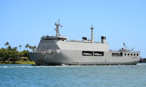 KRI Makasar 590 at RIMPAC 2018 (US Navy)