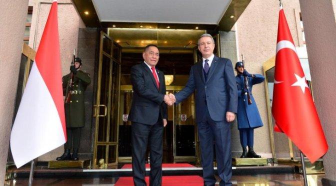 Kemhan RI dan Turki Sedang Bahas Penyusunan DCA