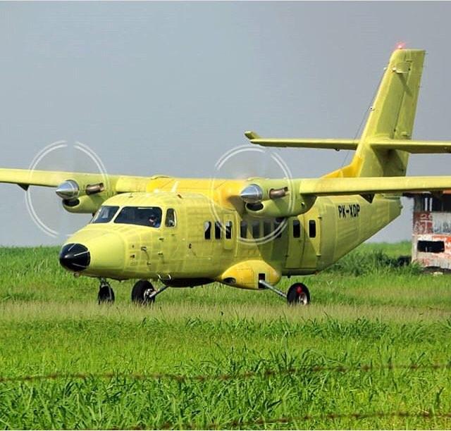Dua Menteri Bahas Percepatan Proyek Pesawat N-219 PT DI