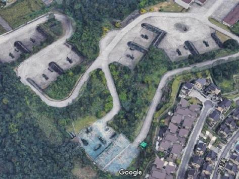 Peta Google tiga dimensi mengungkap lokasi dari rudal Patriot milik AS di Taiwan. SCMP