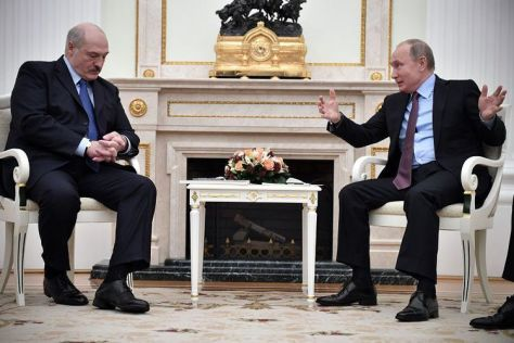 Presiden Belarus Alexander Lukashenko (AFP)