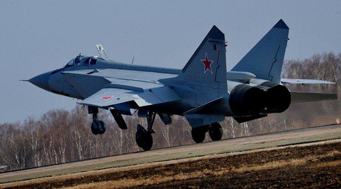 Jet-jet Tempur Rusia Akan Dikerahkan ke Kutub Utara
