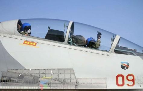 Sukhoi 27 30 MK saat menjalani latihan sriti gesit 2018 di Lanud Sultan Hasanuddin (Kabar Makasar) 1