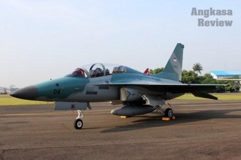 T-50i di HUT ke 72 TNI AU (AR)