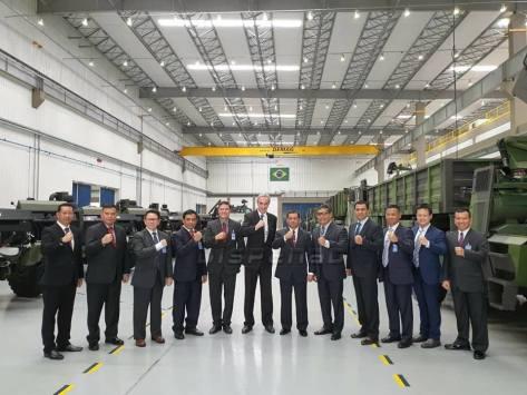TNI melaksanakan kunjungan ke Pabrik AVIBRAS, Sao Jose Dos Campos, Sao Paulo, Brazil, Selasa (12022019) 3