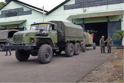 Uji Coba Rantis SADKO NEXT 4X4 dan URAL 6X6 Produksi Rusia 1