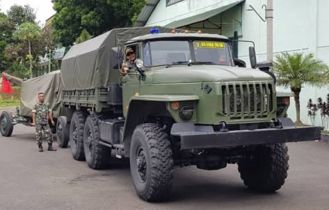 Uji Coba Rantis SADKO NEXT 4X4 dan URAL 6X6 Produksi Rusia 8