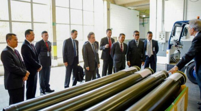 Wakil KSAD Cek Alutsista di Avibras Brazil