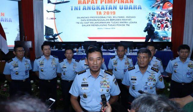 Kasau Sampaikan Modernisasi Alutsista TNI AU Capai 44 Persen