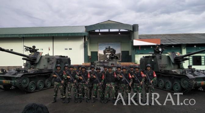 Alutsista Batalayon Armed 4/105 GS