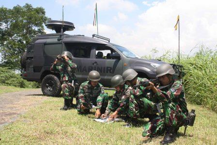 Batalyon Komunikasi dan Elektronika 2 Marinir menggelar latihan Pernika