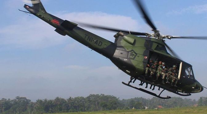 Tahun Depan, PT DI Akan Mulai Pengiriman Sembilan Helikopter Bell-412EPI ke TNI AD