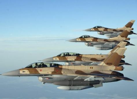 F-16 Maroko (Istimewa)
