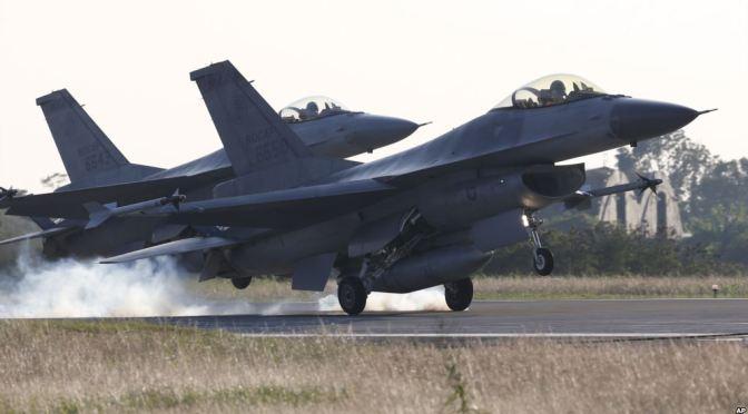 Amerika Serikat Diam-Diam Setujui Permintaan Taiwan Beli Jet Tempur F-16