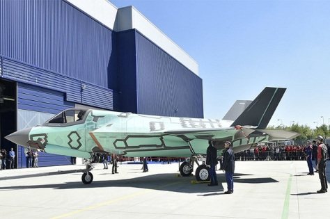 F-35B yang dibuat di Italia. (Lockheed Martin)