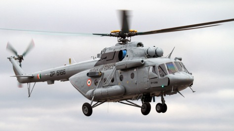 Indian Air Force Mi-17V-5 Helicopter (DefPost)