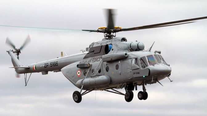 Rudal India Tembak Jatuh Helikopternya Sendiri