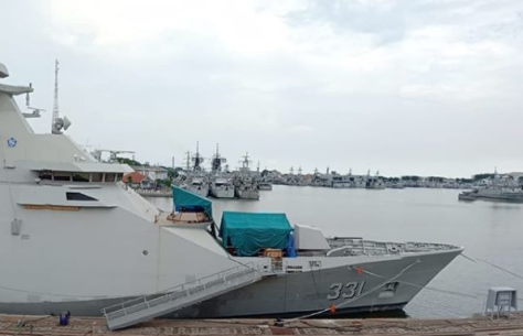 Indonesia's first Martadinata-class frigate is being equipped with close-range air defence capabilities. (Military Buzz)