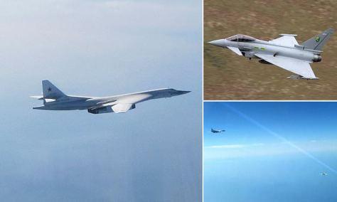 Inggris Kerahkan Typhoon untuk Meng-intercept Pembom Rusia (Daily Mail)
