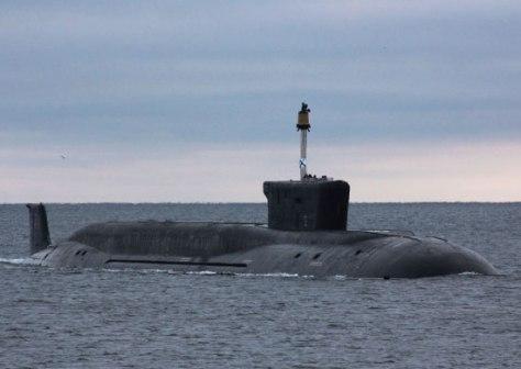 K-551 Vladimir Monomakh adalah kapal selam rudal balistik Rusia dari kelas Borei generasi keempat yang mulai beroperasi pada tahun 2015. Wiki