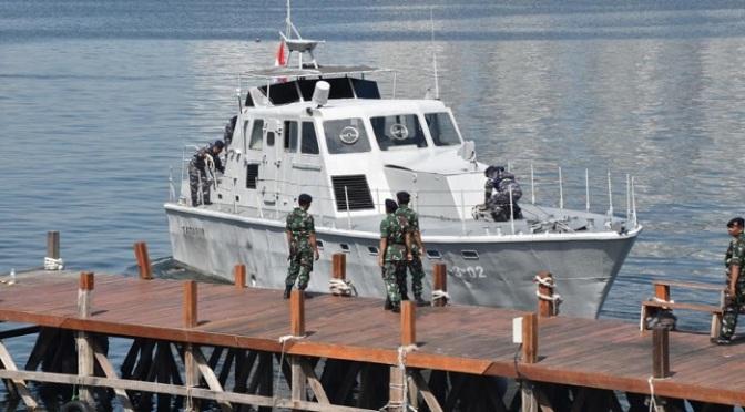 TNI AL Berhasil Uji Coba Cat Anti Radar