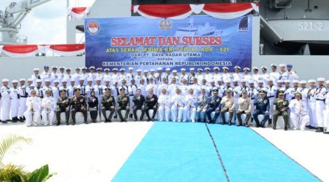 KRI Teluk Lada-521 Masuk Jajaran Satuan Kapal Amfibi Koarmada III