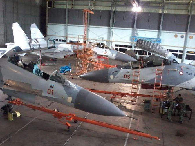 Perbaikan Mesin Pesawat Tempur Sukhoi TNI AU ke Ukraina Mendapat Teguran dari Rusia