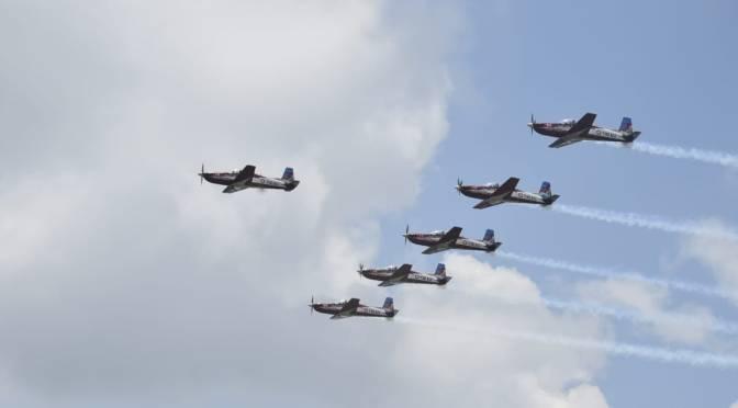 Pembentukan Skadron Aerobatik TNI AU Masih Dikaji