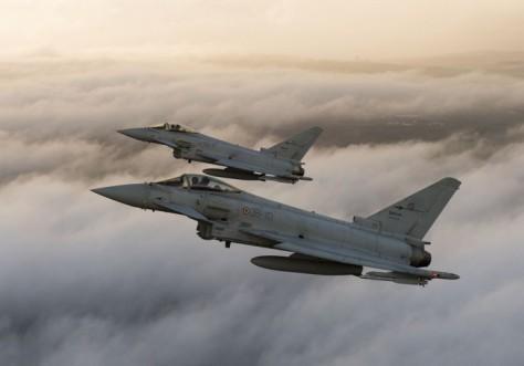 Typhoon AU Italia (Istimewa)
