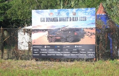 Uji Dinamik IV Roket R-Han 122B
