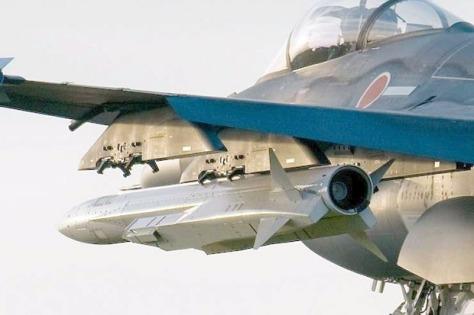 XASM-3 on an F-2 (Istimewa)