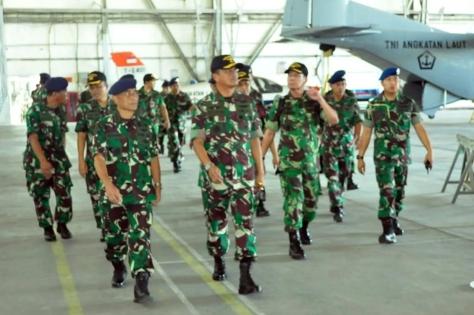 Dankoharmatau Tinjau Fasharkan Pesud TNI AL