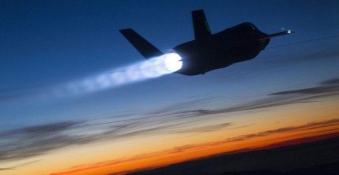 F-35A Jepang Hilang dari Radar di Laut Pasifik