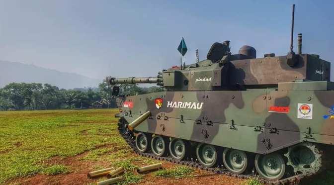 Pindad Akan Tandatangani Kontrak Pembelian Perdana Medium Tank Harimau