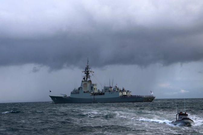 HMAS Brisbane, Kapal Perang Tercanggih Australia