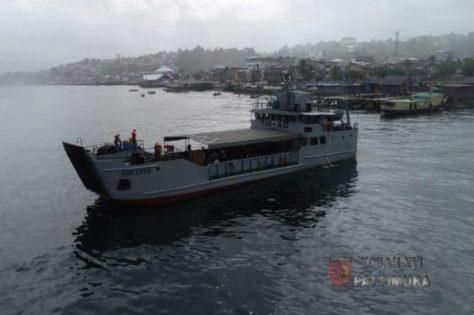 Kasdam Mengecek Sea Trial KM ADRI XXXVI